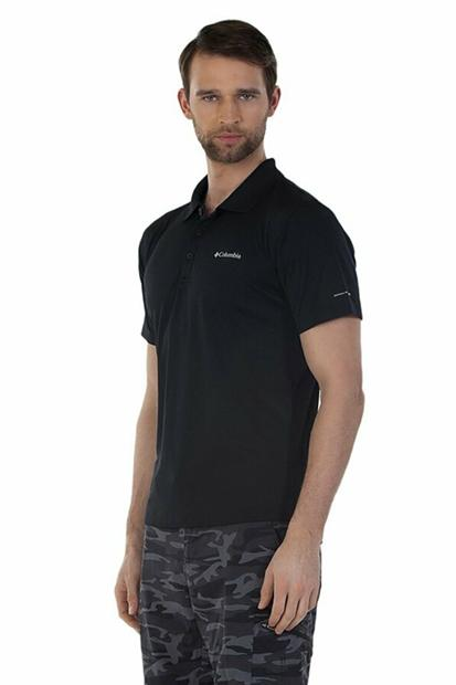 Columbia Zero Rules Polo Yaka Siyah Tişört AM6082-010